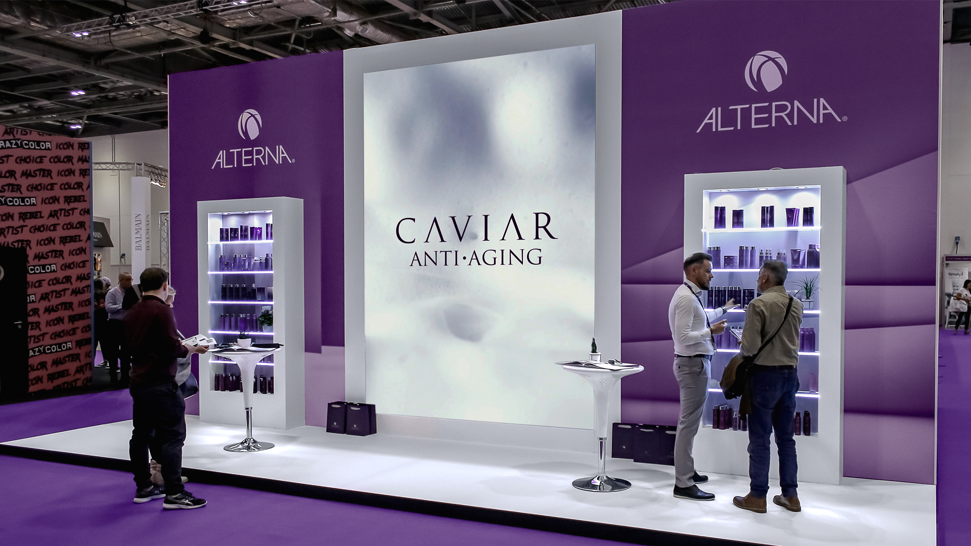 Alterna Exhibition Stand in situ