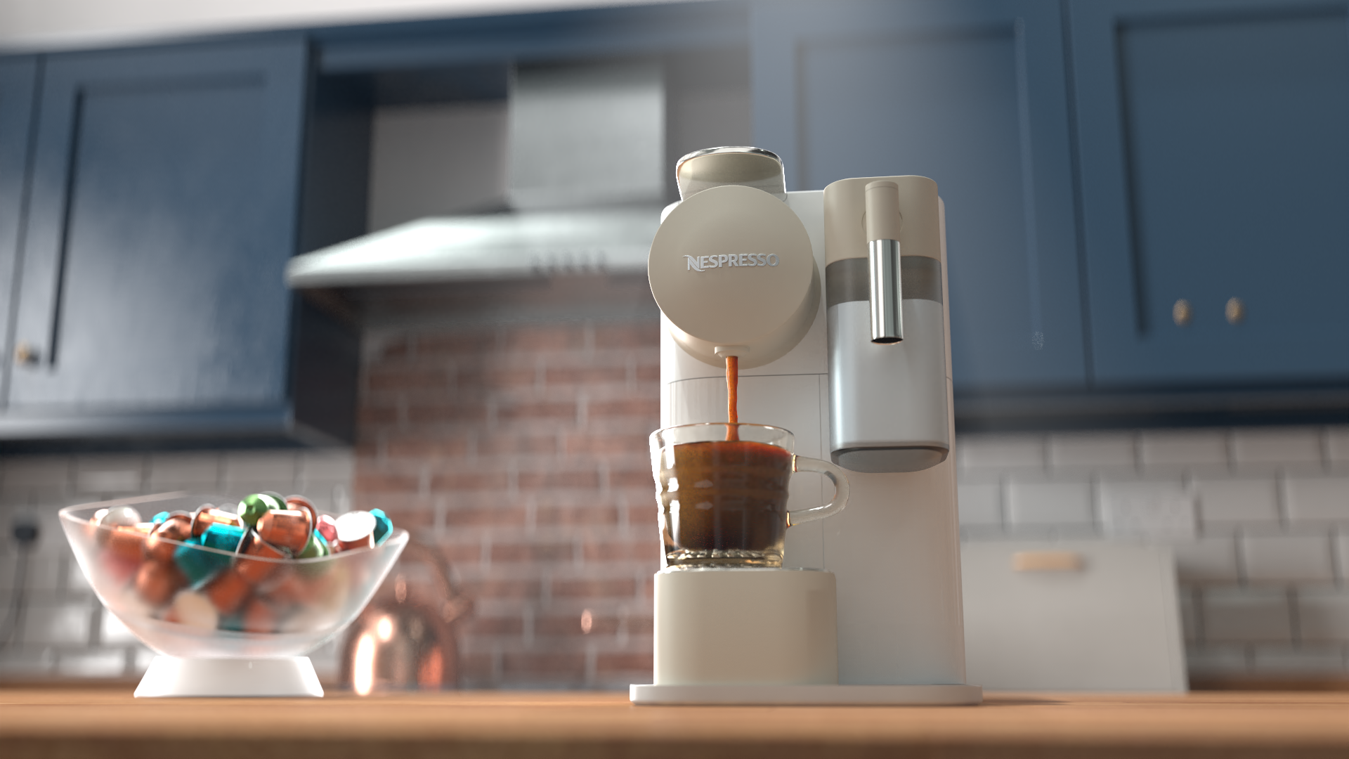 3D coffee promotional video